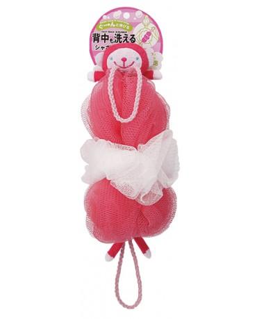 日本MARNA 動物造型刷背泡泡海綿 (猴子)