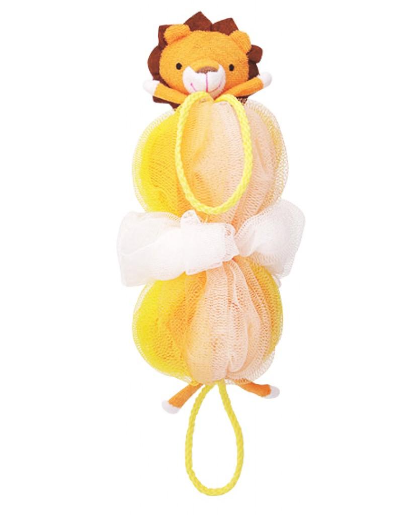 日本MARNA 動物造型刷背泡泡海綿 (獅子)