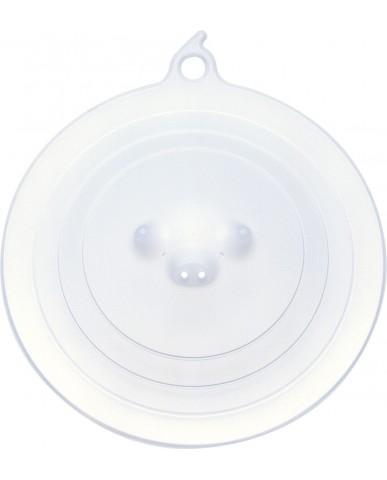 日本MARNA 矽膠豬鼻保鮮蓋-白
