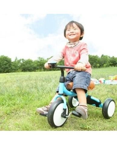 日本mimi-trike 超可愛三輪車 (Blue)-一代