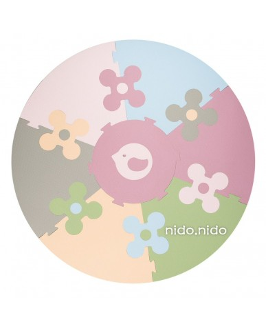 nido.nido 花的圓舞曲地墊