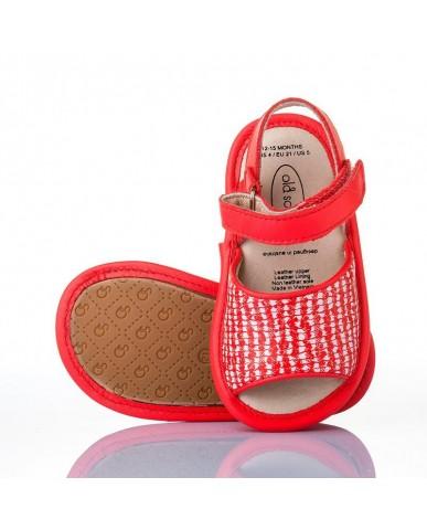 澳洲OldSoles -Bambini Amalfi Sandals-紅色