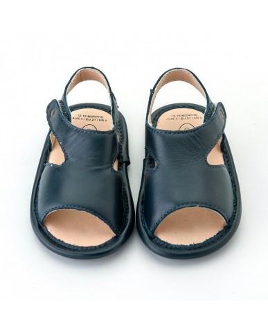 澳洲OldSoles -Bambini Digger Sandals-黑色