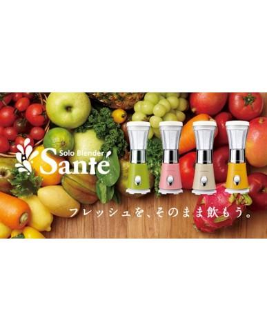 日本recolte Solo Blender Sante 迷你果汁機-玫瑰粉