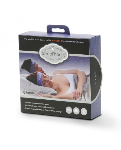 美國SleepPhones 無線睡眠耳機 灰色