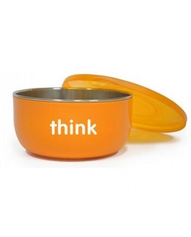 美國thinkbaby不鏽鋼餐具組-夢幻晴空藍