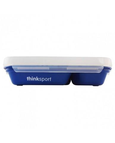 美國thinkbaby不鏽鋼餐盤組-深海藍